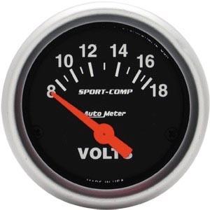 Voltmeter 52mm Autometer Bild 1