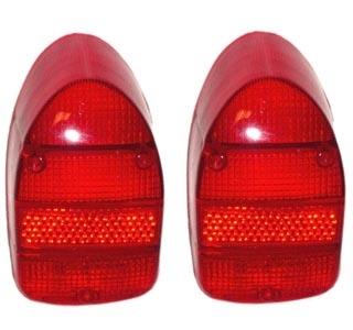 Glas Rücklicht USA rot / rot / rot B-Qualität Bild 1