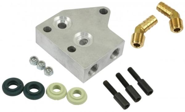 Ölkühler Adapter Dual-Ölkühler Bild 1