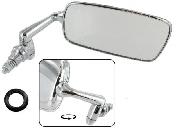 Rückspiegel B-Qualität verchromter Stahl / Rechts Bild 1