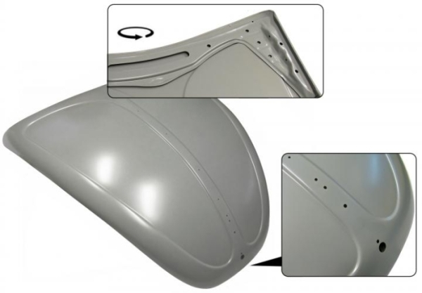 Kofferraumdeckel ohne Lüftungsgitter Bild 1