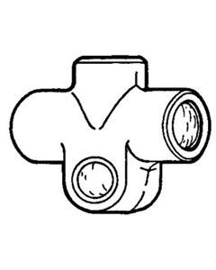 Kreuzstück Bremschlauch Bild 1