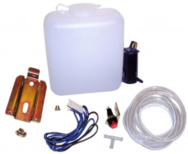 Wischwassertank mit elektrischer Pumpe universal Bild 1