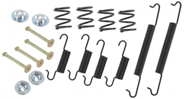 Montagesatz Bremsbacken Vorne Bild 1