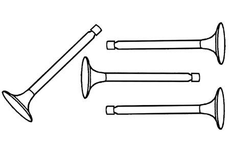 Einlassventil / Auslassventil 28x7mm Bild 1