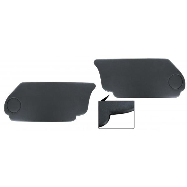 Fußraumabtrennung Cabrio schwarz